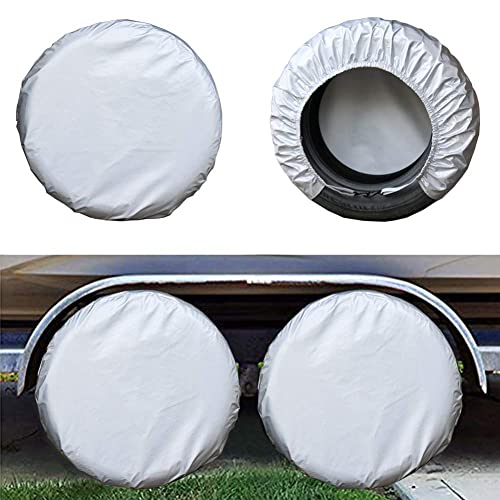 Mr.You Tire Covers For Rv Auto Truck Car Camper Trailer Waterproof Sun-Proof Fit