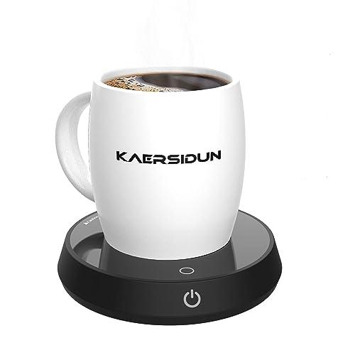 Colorsmoon Coffee Mug Warmer Electric Cup Warmer for Desk Use 4 Temperature