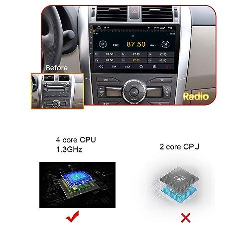 LEXXSON Doppel-Din Autoradio mit GPS Navigation Bluetooth Unterst/ützt WIFI DAB USB//TF// FM//AM//RDS Radio Tuner//Aux in//Cam-In//Freisprecheinrichtung//Subwoofer 7 Zoll Touchscreen Android 8.0 Autostereo