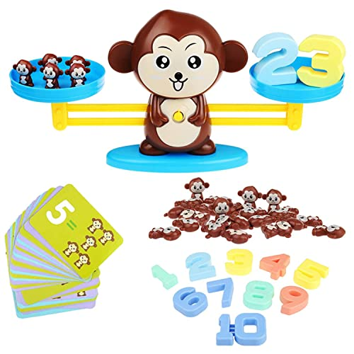 CSSTEL Monkey Balance Cool Math Game for Boys and Girls, Kids ...