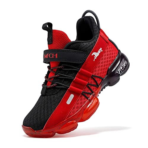 Kids Children Running Trainers Boys Girls Comfort Sports Shoes Mesh Sneakers UK