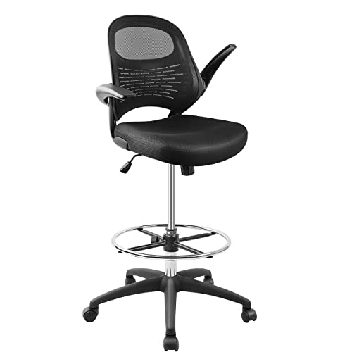 Drafting Chair Tall Office, High Office Chair For Standing Desk