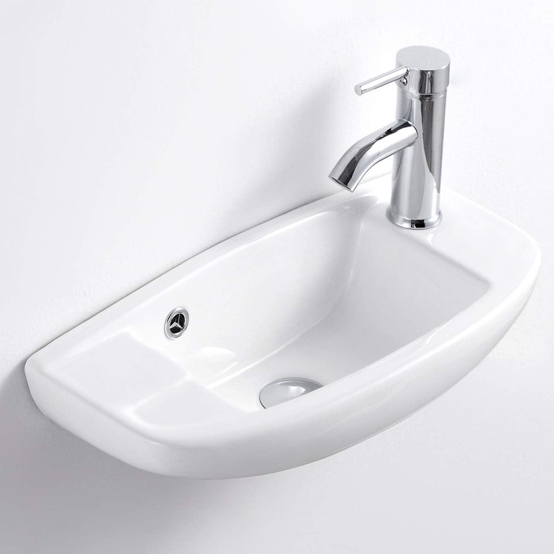 Qi Yi Bathroom Vanity Ceramic, Small Corner Sink Bathroom
