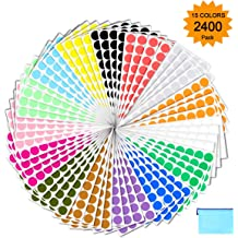 """Color Coding Labels Dot Stickers Round Circle 2/"""" For moving and Boxes 768 Pack"""